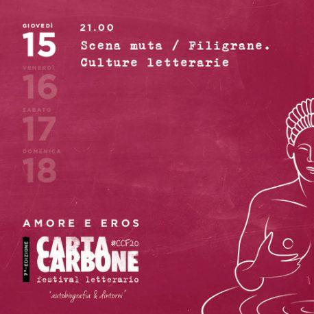Scena muta e Filigrane. Culture letterarie