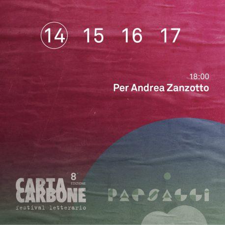 Per Andrea Zanzotto