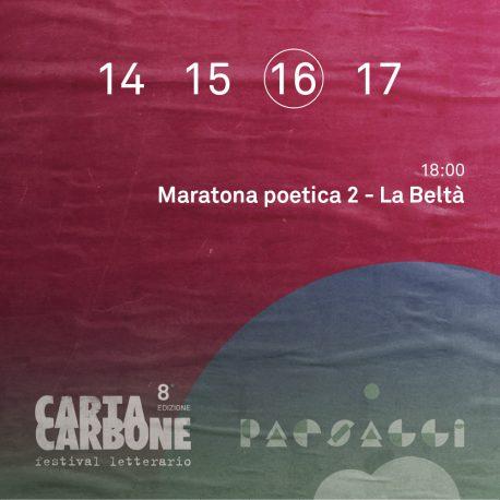 Maratona Poetica 2 – La Beltà